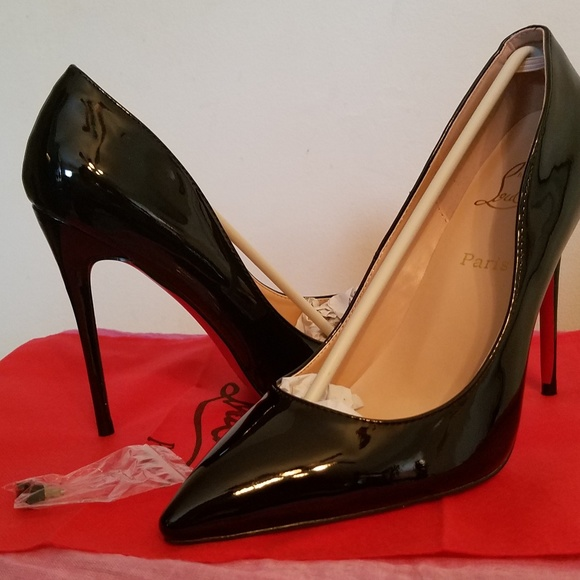 a7a4cd93722 Black Red Bottom heels euro 42 size 10